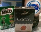Es kepal Milo ala fe #rabubaru langkah memasak 1 foto