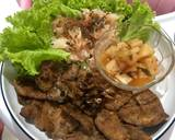 Korean roast chicken with kimci and salad by irre_desirre langkah memasak 3 foto