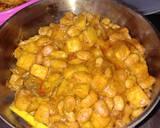 Rendang Kacang Ndul Plus kentang langkah memasak 3 foto