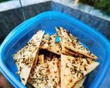 Keripik Keju Panggang Keto Friendly (cheese crackers) /DEBM langkah memasak 4 foto