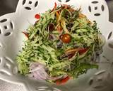 Colorful Vegetable Salad with Fried Chicken and Poached Egg recipe step 5 photo