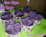 Bolu kukus ubi ungu langkah memasak 4 foto