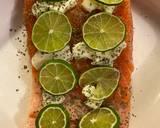 Baked Cilantro Lime Salmon