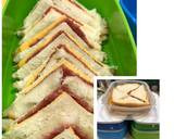 Sandwich Super Simple Bekal Anak langkah memasak 1 foto