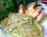 0. Veggie Pajeon (korean pancake) langkah memasak 2 foto