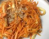 Japanese Carrot Fry with Chikuwa recipe step 6 photo