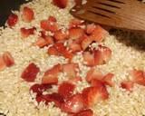 Strawberry risotto recipe step 3 photo