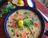 Soup e jo (cream of barley soup) recipe step 11 photo