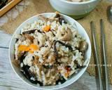 Nasi Tim Jamur ala Jepang langkah memasak 4 foto