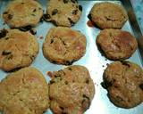 Raisin american scone langkah memasak 5 foto