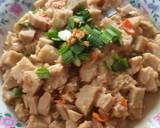 Stir-Fry Spicy Taro langkah memasak 4 foto