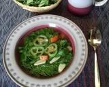Sayur bening daun kelor langkah memasak 3 foto