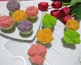 Kue Mangkok Tape Mekrok langkah memasak 8 foto