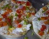 Cheese kulcha pizza recipe step 4 photo