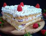 Chantilly cake langkah memasak 10 foto