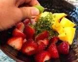 Refreshing Strawberry & Mango Salad with Mint & Lime recipe step 1 photo