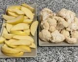 Photo de l'étape 5 de la recette Crème de chou fleur avec une touche de pomme en monsieur cuisine, Thermomix ou à l'ancienne