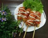 Corndog & Hotang langkah memasak 5 foto