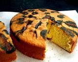 Leopard Cake Cemong negro langkah memasak 10 foto