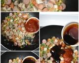 PASTA GORENG Ayam langkah memasak 3 foto