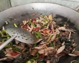 Oseng Pindang Tongkol Toge langkah memasak 9 foto