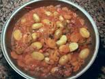 Foto del paso 20 de la receta Cazuela de jureles al horno con alcachofas y berenjenas