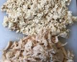 Pepes Nasi Ayam Tahu / Nasi Bakar langkah memasak 1 foto