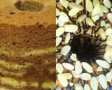 Fluffy Marmer Chiffon Cake langkah memasak 7 foto