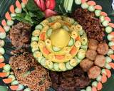 Nasi kuning Tumpeng langkah memasak 12 foto