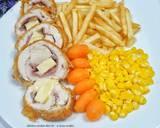 Chicken cordon bleu langkah memasak 5 foto