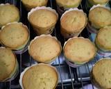 Cupcake karakter elmo langkah memasak 4 foto