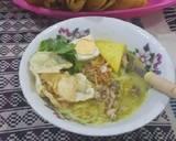 Soto Ayam kuah kuning langkah memasak 3 foto