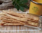 522. Celery Cheese Stick Krispi #SeninSemangat langkah memasak 10 foto