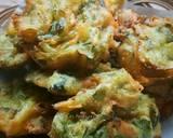 Bakwan Pakcoy langkah memasak 3 foto