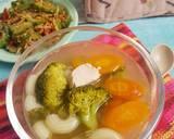 Sup Ayam Makaroni langkah memasak 4 foto