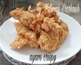 Ayam crispy langkah memasak 7 foto