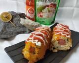Corn Dog Nasi Sosis langkah memasak 8 foto