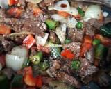Daging Sapi Lada Hitam langkah memasak 11 foto