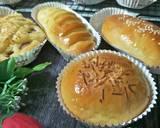 Roti Manis langkah memasak 10 foto