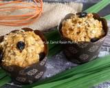Carrot Raisin Muffins (Muffin Wortel) Tanpa Mixer langkah memasak 8 foto