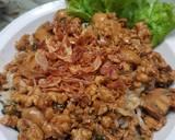 Mie ayam jamur langkah memasak 4 foto