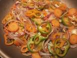 Foto del paso 14 de la receta Cazuela de jureles al horno con alcachofas y berenjenas