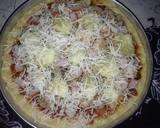 Hawaiian Pizza langkah memasak 5 foto