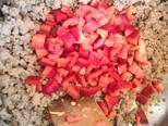 Chilis bab, gluténmentes lángossal recept lépés 4 foto