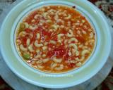 Makaroni Kuah Tomat nan Segar & nikmat langkah memasak 7 foto