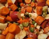 Roasted London Broil with vegetables recipe step 3 photo