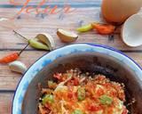 Telur Geprek langkah memasak 2 foto