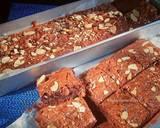Almond Chocochips Brownies langkah memasak 7 foto
