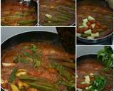 Asam pedas ikan kembungDengan Nenas langkah memasak 11 foto