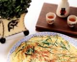 Niratama/ Dadar telur kucai ala Japanese cuisine langkah memasak 3 foto